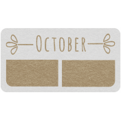 Toolbox Calendar- October Date Tag 02