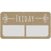 Toolbox Calendar- Friday Date Tag 01