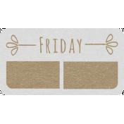 Toolbox Calendar- Friday Date Tag 02