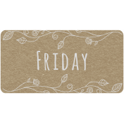 Toolbox Calendar- Friday Floral Date Tag 01