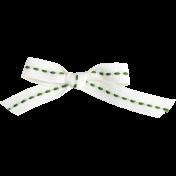 Slice of Summer- Green Bow