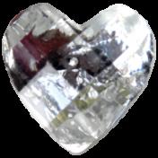 Slice of Summer- Heart Gem