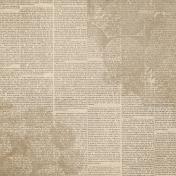 Slice of Summer- Newsprint Paper