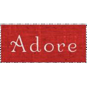 Slice of Summer- Adore Word Art