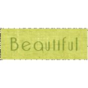 Slice of Summer- Beautiful Word Art