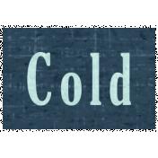Slice of Summer- Cold Word Art