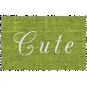 Slice of Summer- Cute Word Art