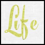 Slice of Summer- Life Word Art