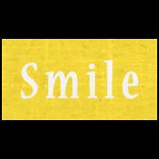 Slice of Summer- Smile Word Art
