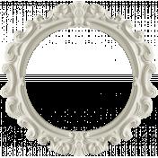 Digital Day- Cream Ornate Frame