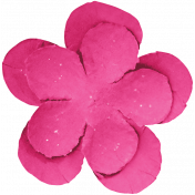 Digital Day- Pink Flower