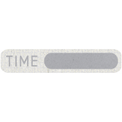 Digital Day- Gray Time Tag