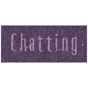 Digital Day- Chatting Word Art