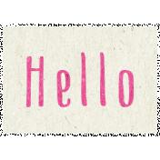 Digital Day- Hello Word Art