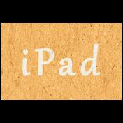 Digital Day- iPad Word Art