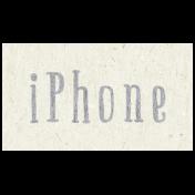 Digital Day- iPhone Word Art