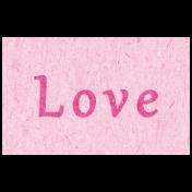 Digital Day- Love Word Art