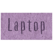 Digital Day- Laptop Word Art