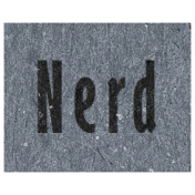 Digital Day- Nerd Word Art