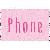 Digital Day- Phone Word Art