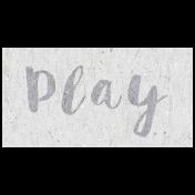 Digital Day- Play Word Art