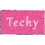 Digital Day- Techy Word Art