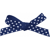 At the Zoo- Blue Bow