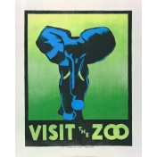 At the Zoo- Elephant Ephemera 01