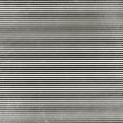 At the Zoo- Black Striped Paper