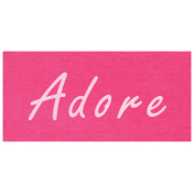 At the Zoo- Adore Word Art