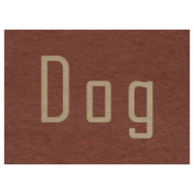 At the Zoo- Dog Word Art