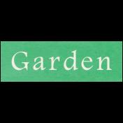 At the Zoo- Garden Word Art