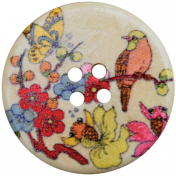 At the Zoo- Button 01
