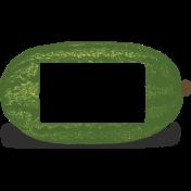 Slice Of Summer- Watermelon Chalk Frame