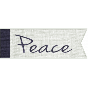 For the Love of Peace- Peace Word Art