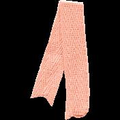 Apple Crisp- Pink Folded Ribbon