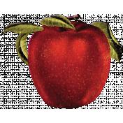 Apple Crisp - Red Apple 01