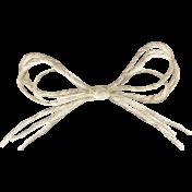 Apple Crisp- Twine Bow
