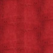 Apple Crisp- Red Creased Paper