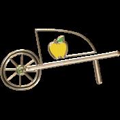 Apple Crisp- Wheelbarrow Doodle Clip