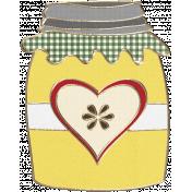 Apple Crisp- Apple Jelly Doodle