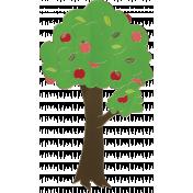 Apple Crisp- Apple Tree Doodle