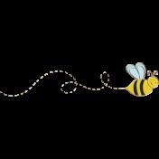 Apple Crisp- Bee Doodle