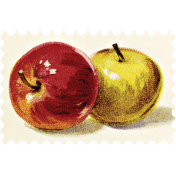 Apple Crisp- Postage Stamp 02