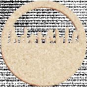 Apple Crisp- Adorable Cork Wordart