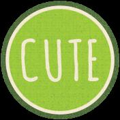 Apple Crisp- Cute Sticker