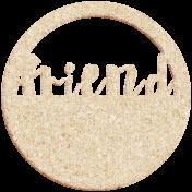 Apple Crisp- Friend Wood Wordart