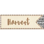 Apple Crisp- Harvest Wordart