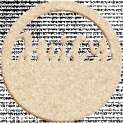 Apple Crisp- Juicy Cork Wordart