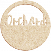 Apple Crisp- Orchard Cork Wordart